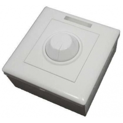 Dimmer PWM con caja para Led 12-24v.