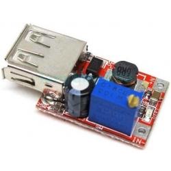 Cargador DC-DC-USB 3-5v.