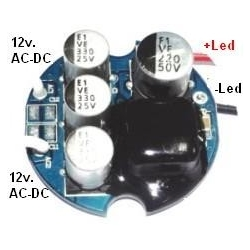 Driver Led AT9155 AR111 12v. 320mA 9x1w