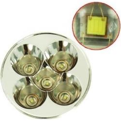 Cabezal 5 CREE Q5 50mm para Linternas WF600-900-1000