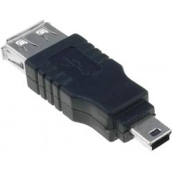 Adaptador USB-Macho-Mini USB Macho