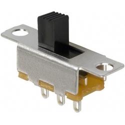 Interuptor deslizante vertical 19x4.8x5mm 1C-2pos.