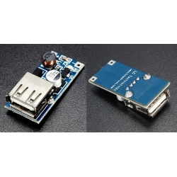 Fuente DC-DC-Step-Up Boost, USB 0.9-5v.