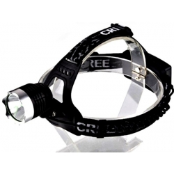 Linterna casco 1200Lm.CREE XML T6 KC02