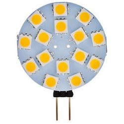 Led G4 15 led SMD 5050 35mm 12v AC/DC