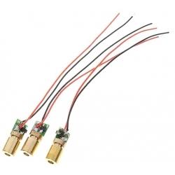 Módulo Led-Láser 2-5mw 3.5~4.5v