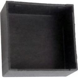 Cajas sin tapa CA17 Negra