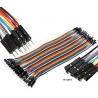 Juego 10 Cables Macho-Hembra Dupont