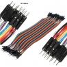 Juego 10 Cables Macho-Macho Dupont