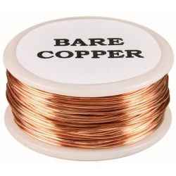 Hilo de cobre desnudo