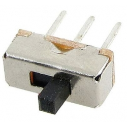 Interuptor deslizante Switch 8.5 x 3.5 x 3.5mm 1C-2pos.