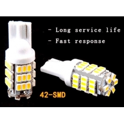 Bombilla LED T10 42 Led 1210 chip SMD 12v