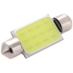 Bombillas Festoon Cob 12 Chip LED de 39mm