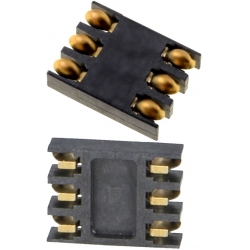 Conectores SIM de memorias 115D 8 pin