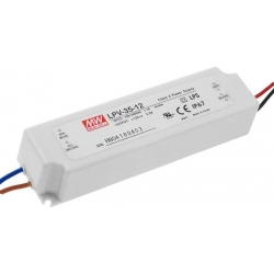 Fuentes Mean-well estancas Led LPV35