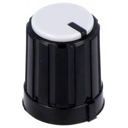 Botones de mando 13.3x16.5mm Negro Blanco