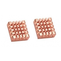Disipador Termico cobre aletas 12x13x5mm