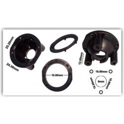 Reflectores de 34 patas Negro para Lentes de 20mm