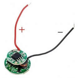 Driver regulador de corriente para LED 1~3v 5 modos