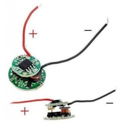 Driver regulador de corriente para LED 3.6~8.4v 5 modos