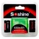 Set Bateria Soshine RCR123 3.0v 650mA.