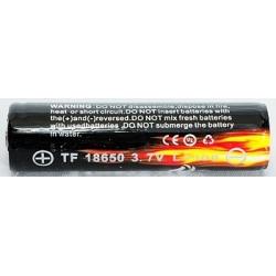 Bateria Litio Protegida Trustfire TF18650 3.7v 2.400mA