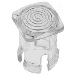 Embellecedores cuadrado para Led de 3mm Transparente