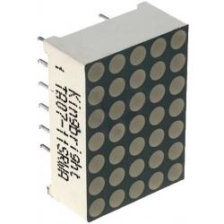 Display matriz de puntos Led 5x7 18mm