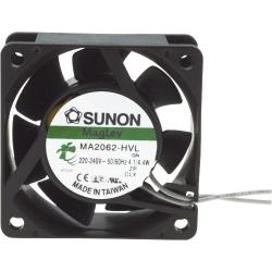 Ventilador refrigeración de 220v. 60x60x25mm