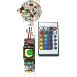 Set Driver 3 Led RGB GU10-E27 AT2370R