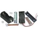 Portapilas,Cables, Adaptadores para Baterías